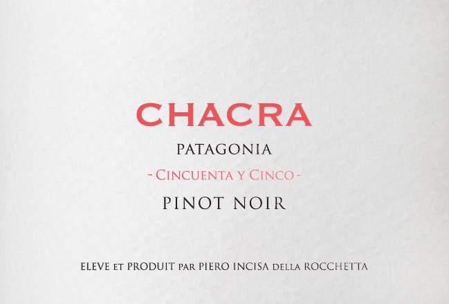 Chacra Cincuenta y Cinco Pinot Noir