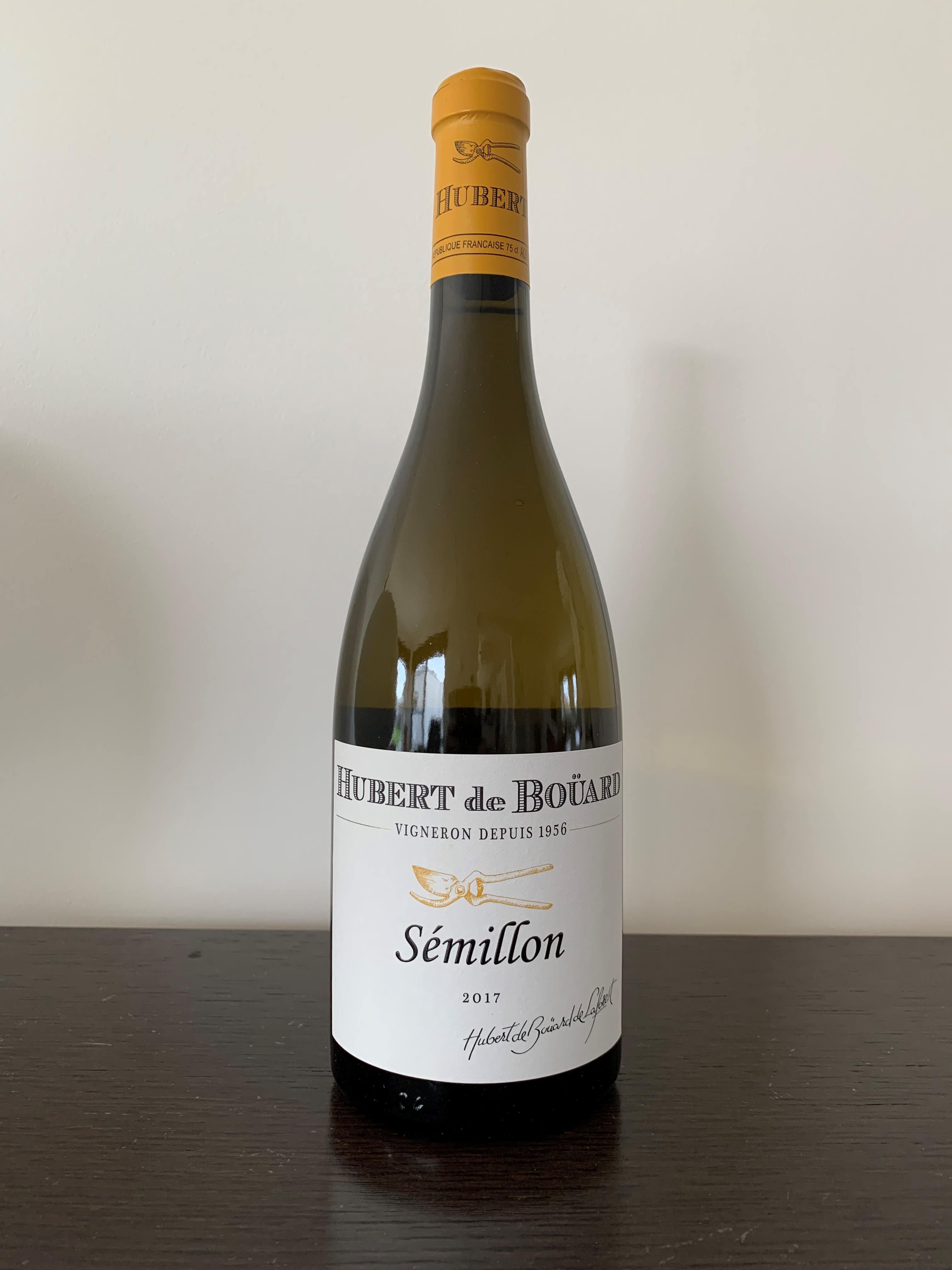 Hubert de Bouard Semillon